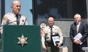 Los Angeles County Sheriff Lee Baca at an event in Norwalk last year.