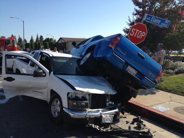 Violent crash ends on Elaine Avenue in Norwalk