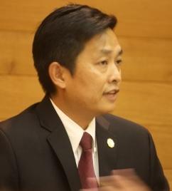 Former Cerritos City Planning Commissioner Frank Aurelio Yokoyama.  Randy Economy Photo